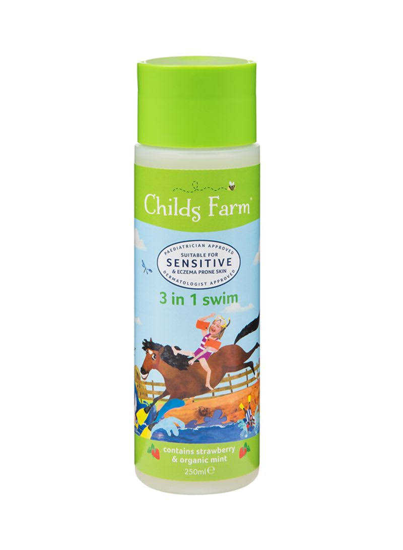 Childs Farm 3 in 1 Swim Care - Strawberry and Organic Mint, 250ml