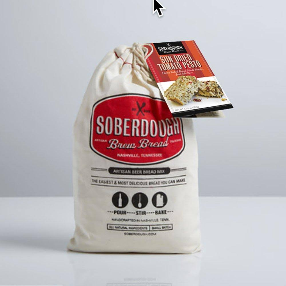 Soberdough Beer Bread Mixes - Various Flavors (Sun Dried Tomato Pesto)