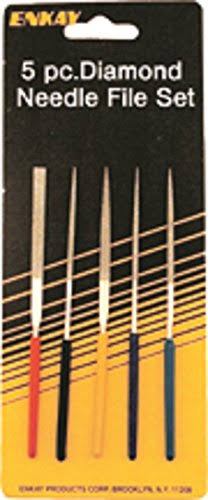Enkay Mini Diamond Needle File Set - 5pc