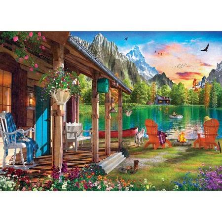Masterpieces Puzzle Co Evening on The Lake Jigsaw Puzzle