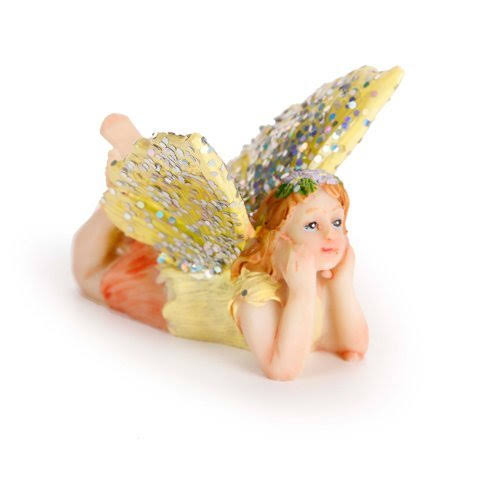 Darice Yard and Garden Minis - Flying Fairy - 1.25 x 1.5 Inches - 3 Assort