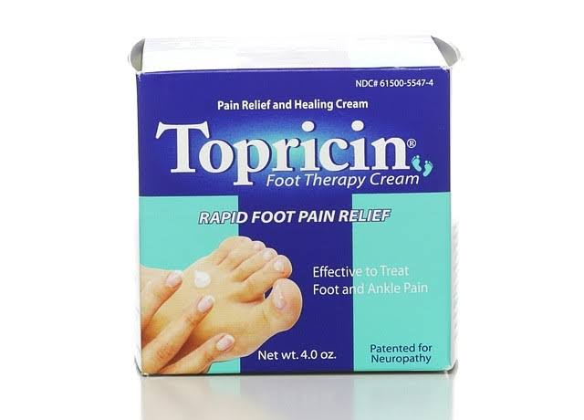 Topricin Foot Therapy Cream - 120ml