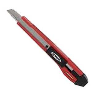 Hyde Tools Auto-Lock Snap-Off Retractable Blade Utility Knife - 9mm
