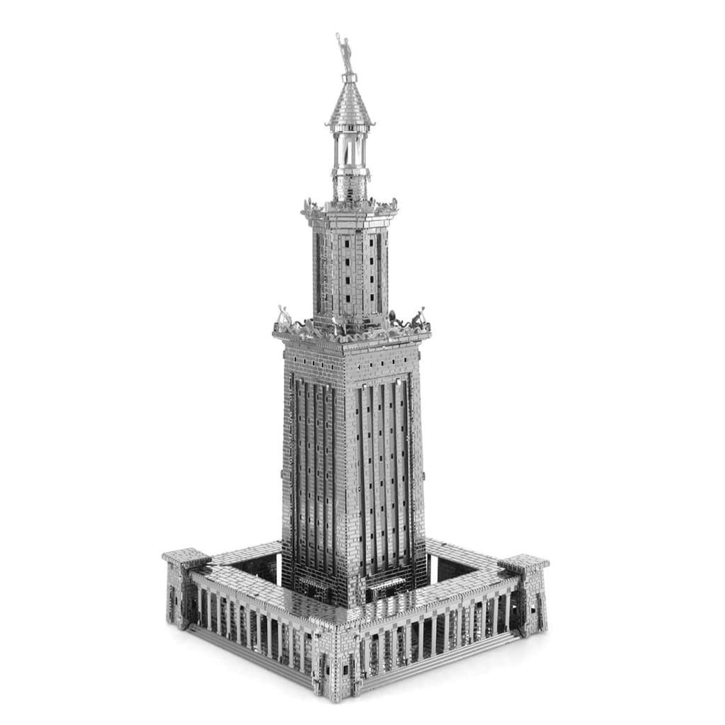 Fascinations Metal Earth Iconx Lighthouse Of Alexandria 3d Metal Model Kit