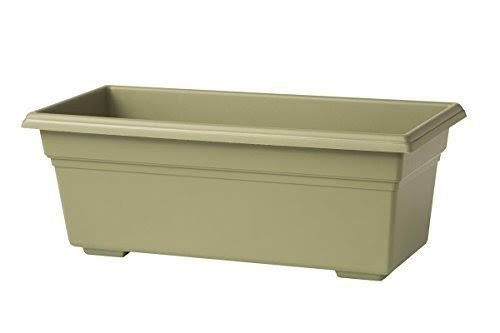 "Novelty 16300 Countryside Flower Box Planter - Sage, 30""x8""x6.5"""