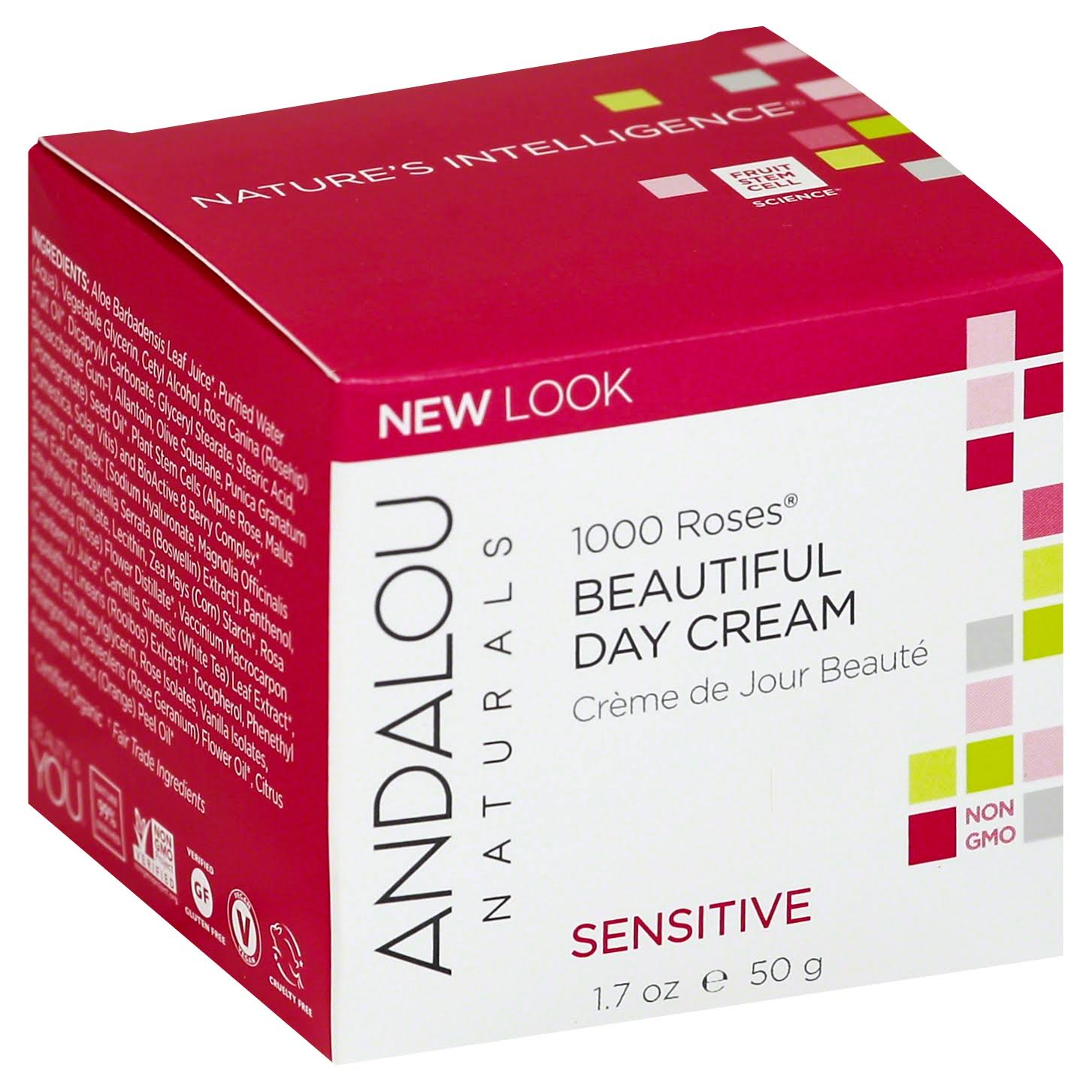 Andalou 1000 Roses Beautiful Day Cream