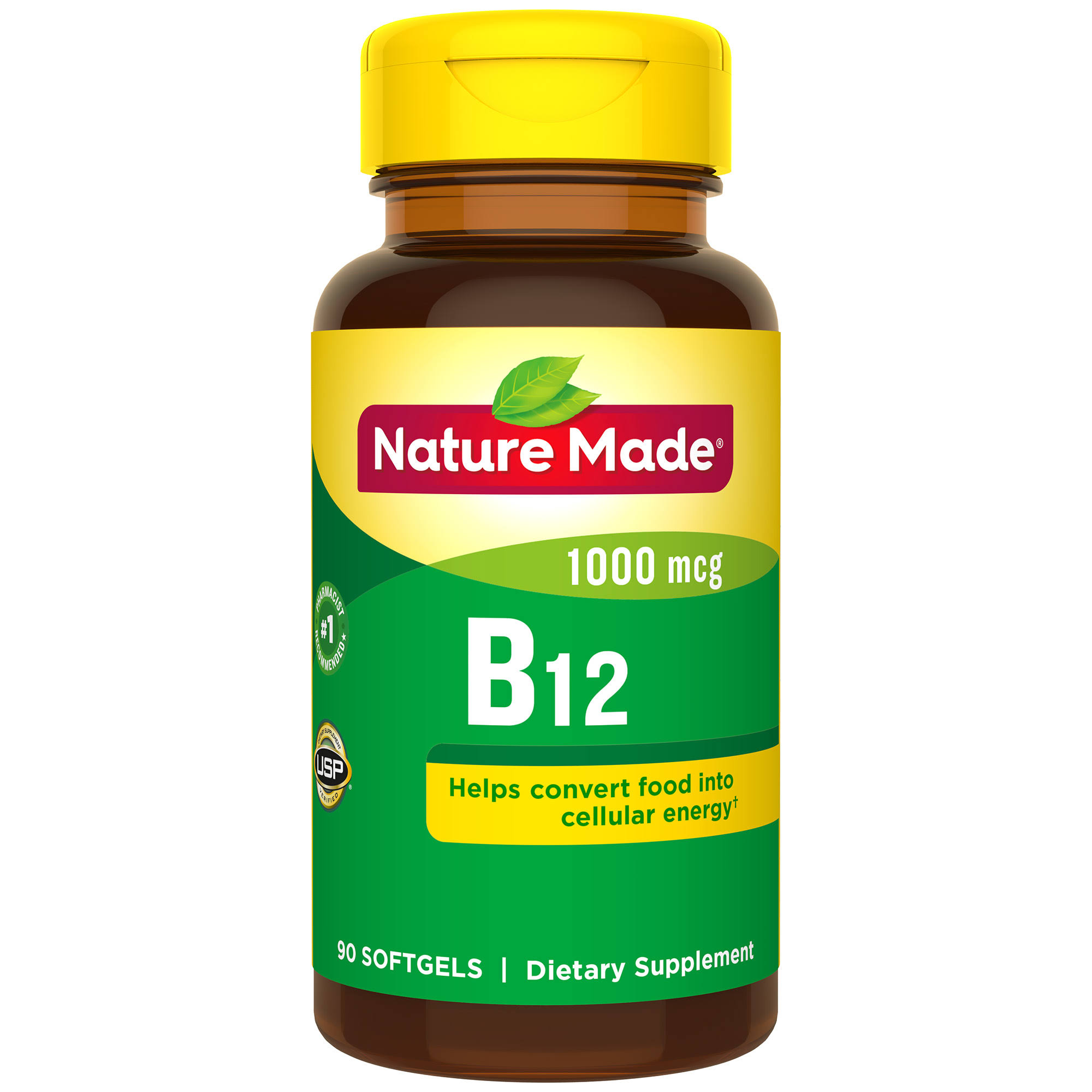 Nature Made Vitamin B12 Dietary Supplement - 90ct