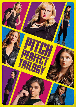 Pitch Perfect Trilogy DVD