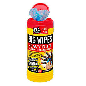 Big Wipes Heavy-duty Cleaning Wipes - 4X4, 40 Wipes