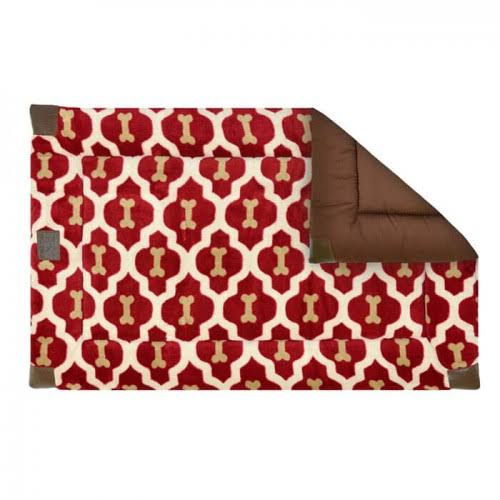 Tall Tails 88216266 Classic Dog Bed Red Bone - Small