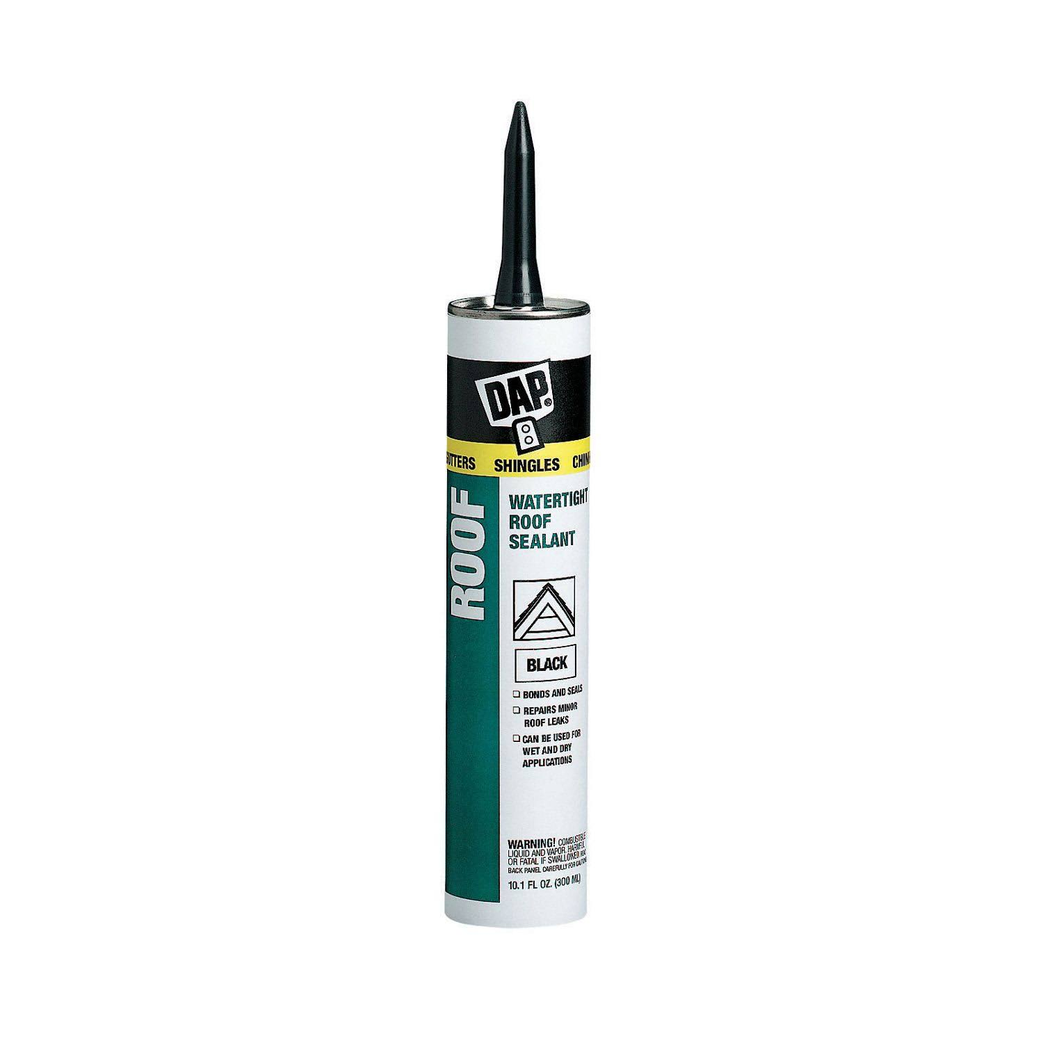 DAP Roof Sealant - Black, 10.1 oz