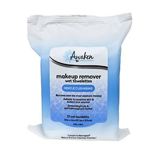 Quality Choice QC Awaken Make Up Remover Wipe 25ea