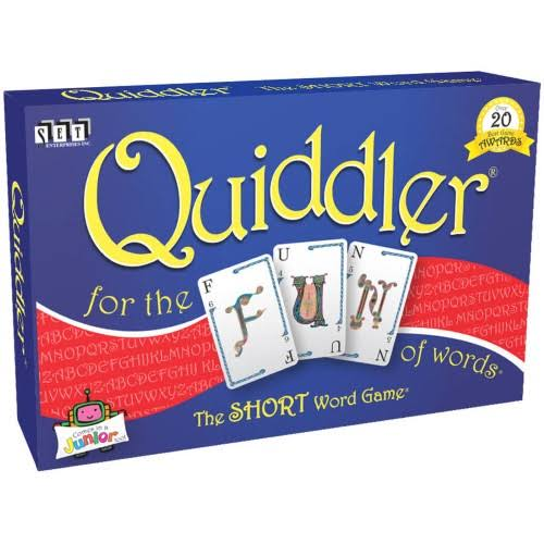 SET Enterprises Quiddler Card Game