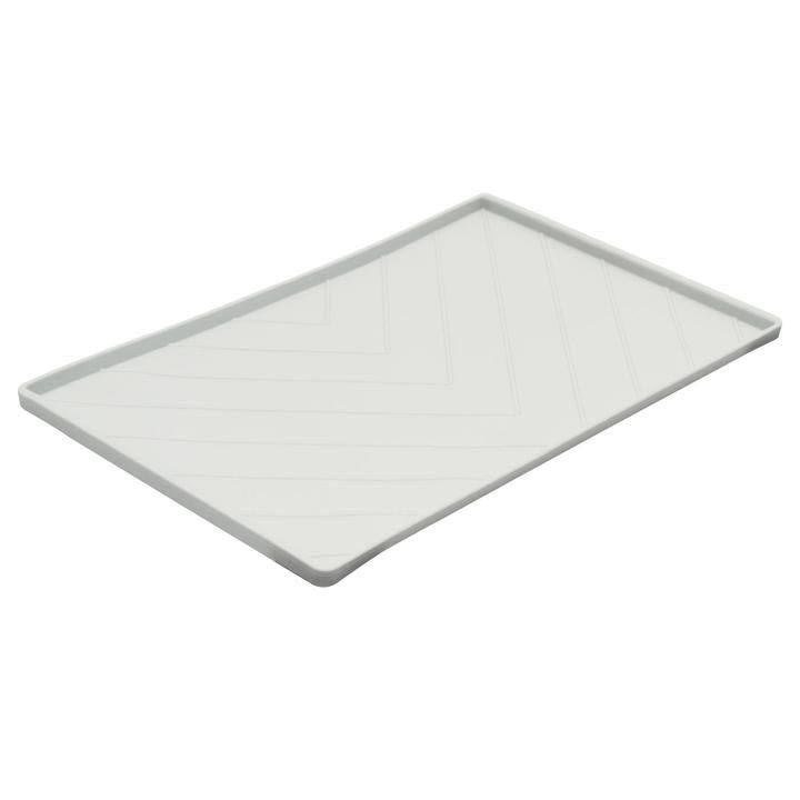 Messy Mutts Silicone Food Mat Medium Light Grey