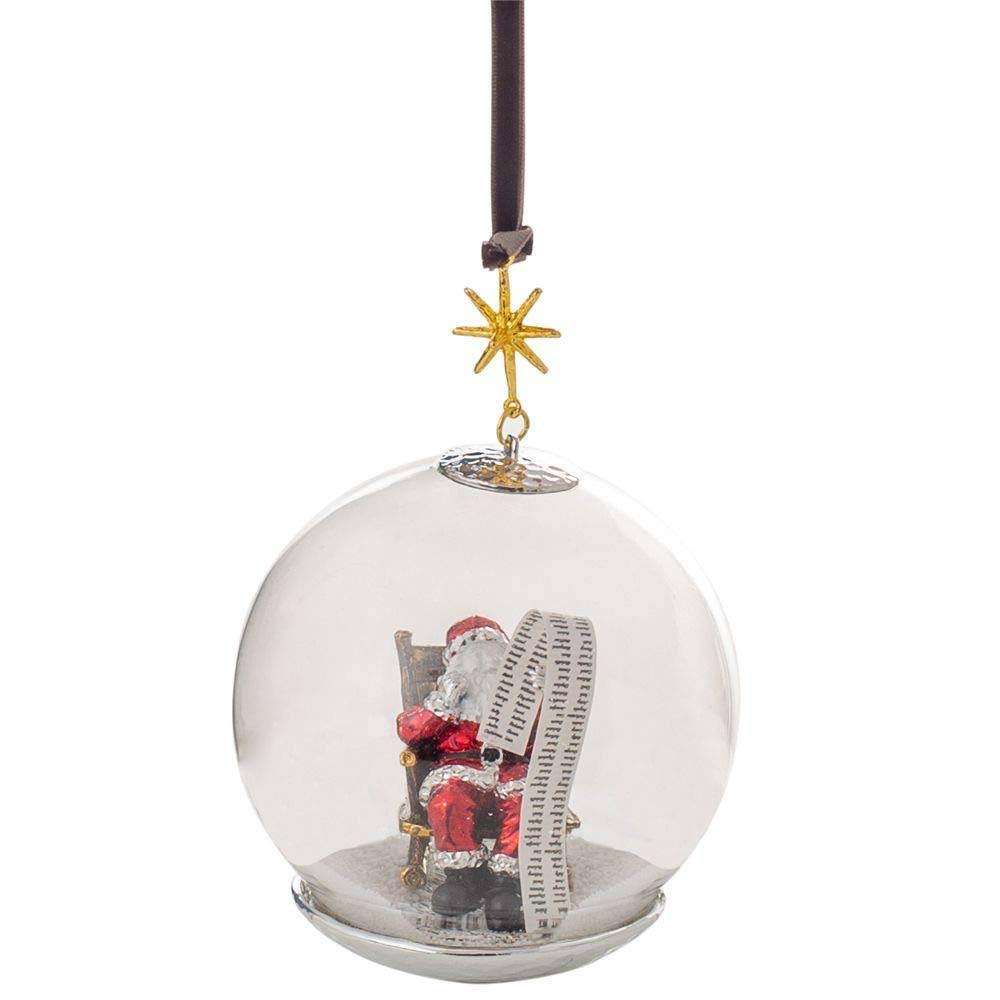 Michael Aram Santa Snow Globe Ornament