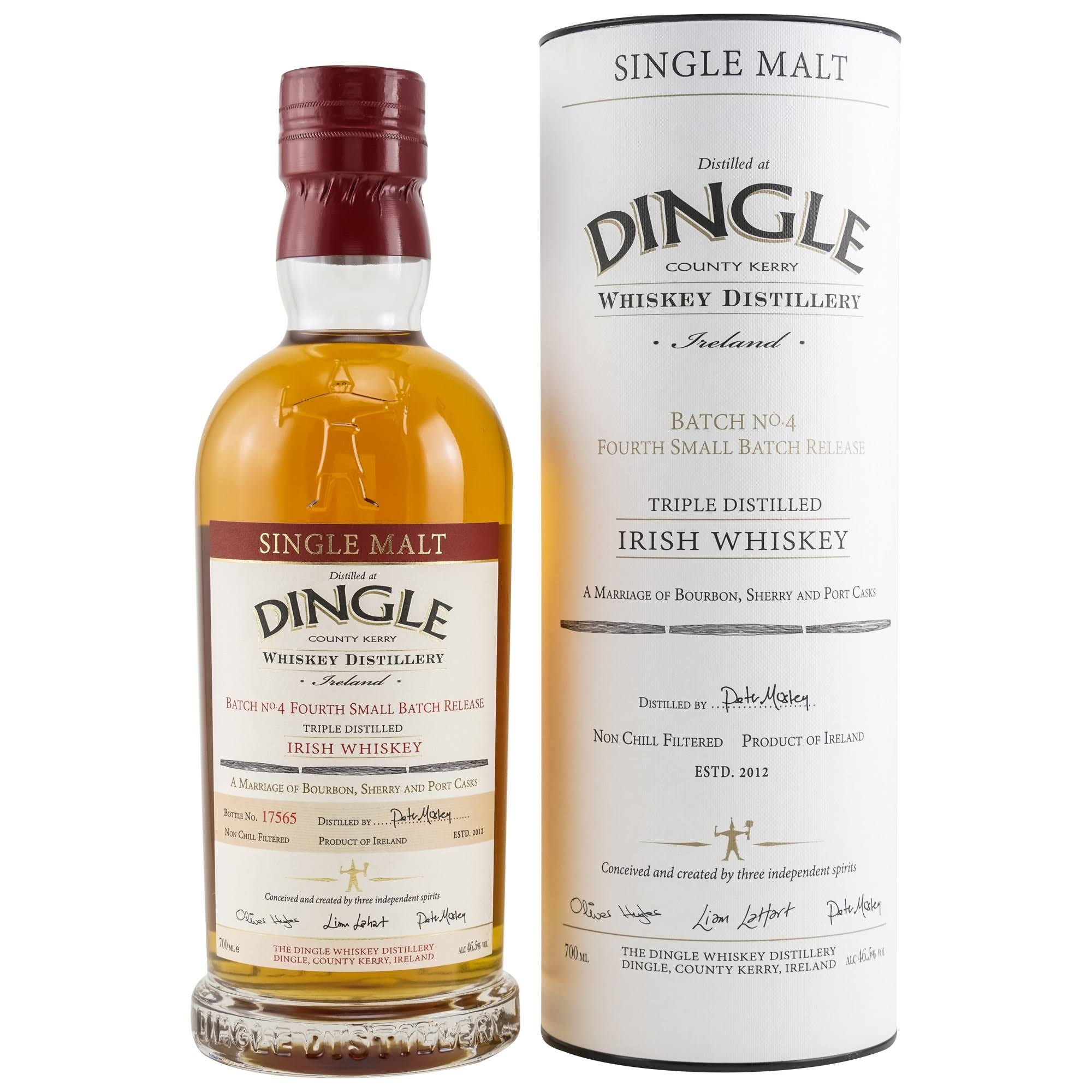 Dingle Single Malt Triple Distilled Irish Whiskey - 700ml
