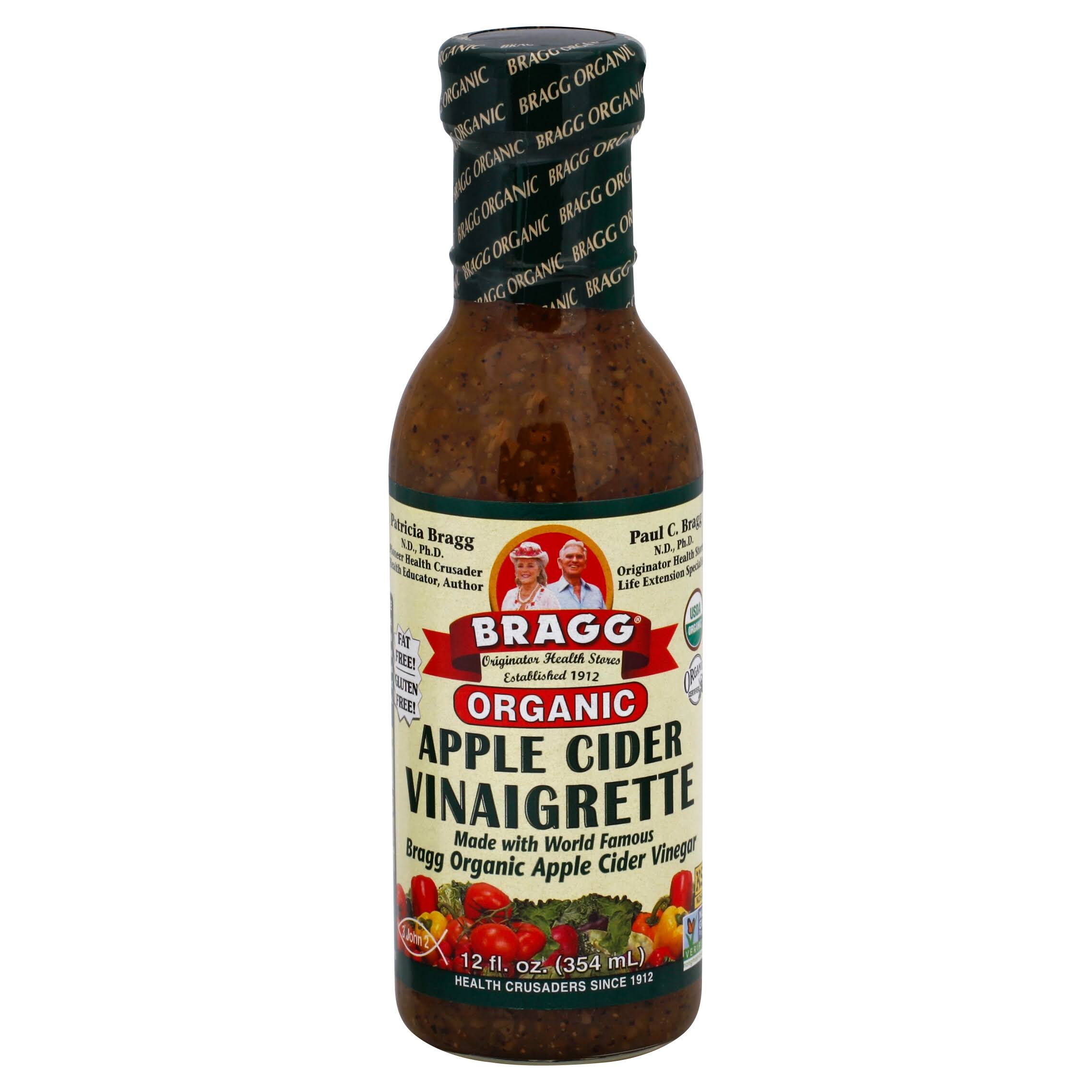 Bragg Organic Apple Cider Vinaigrette Dressing - 12oz