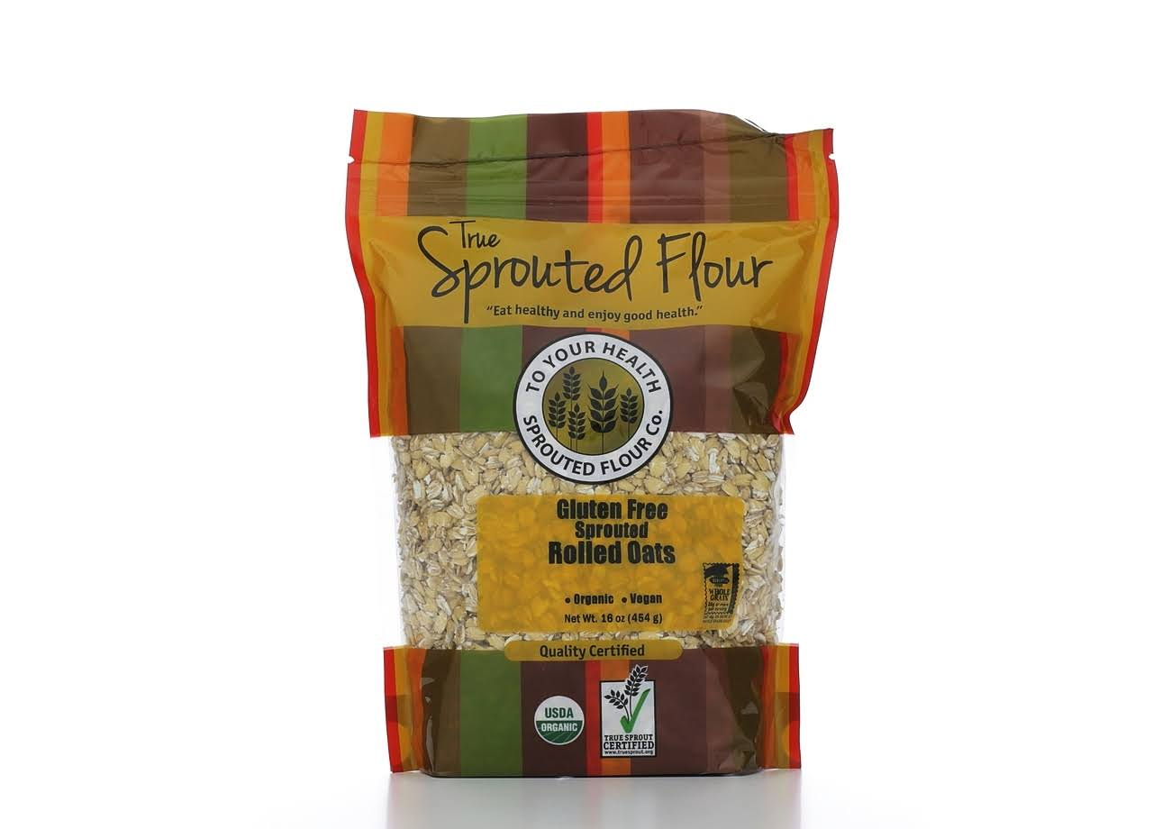 to Your Health Sprouted Flour Organic Sprouted Rolled Oats, 16 oz