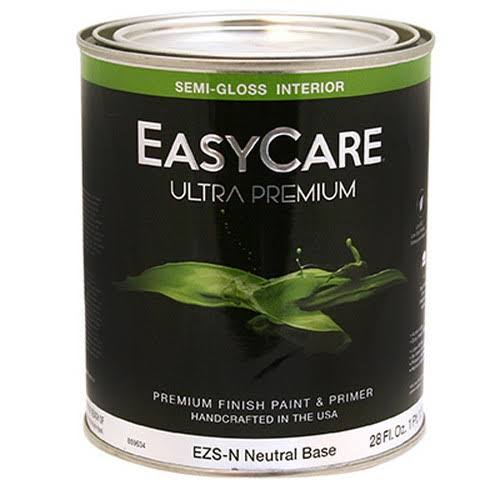 True Value Mfg EZSN-QT Easycare qt. Neutral Base for Interior Semi-Gl