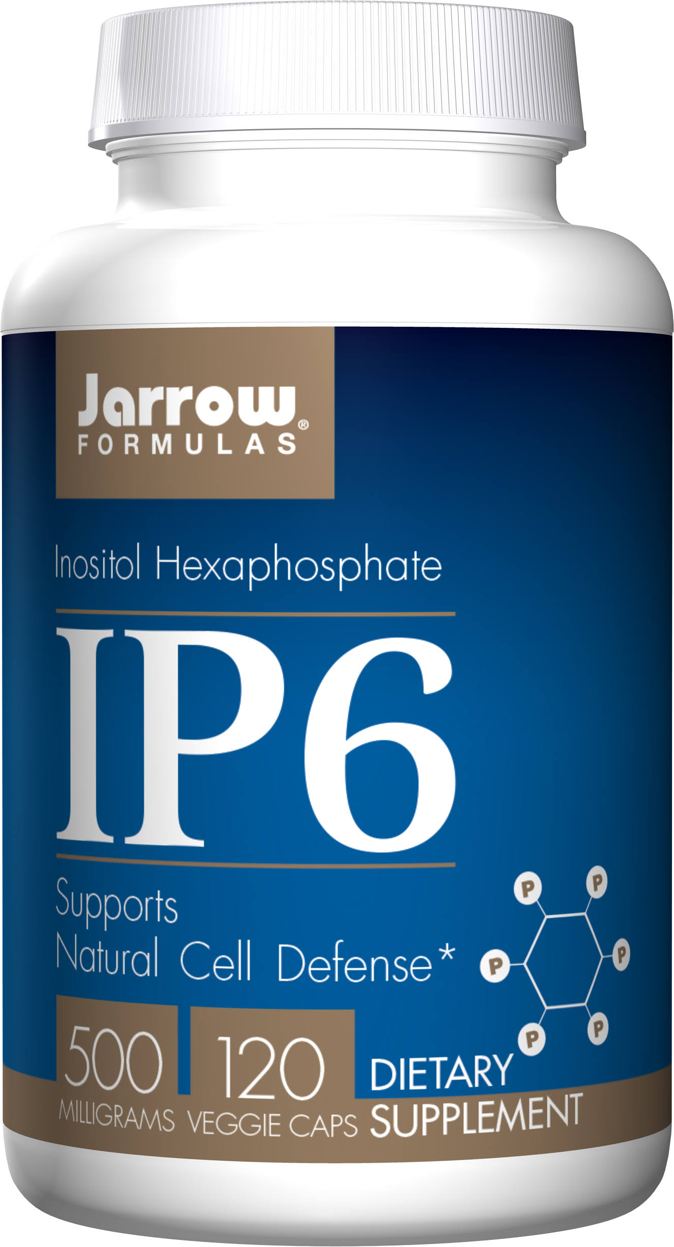 Jarrow Formulas IP6 Inositol Hexophosphate Supplement - 120 Capsules