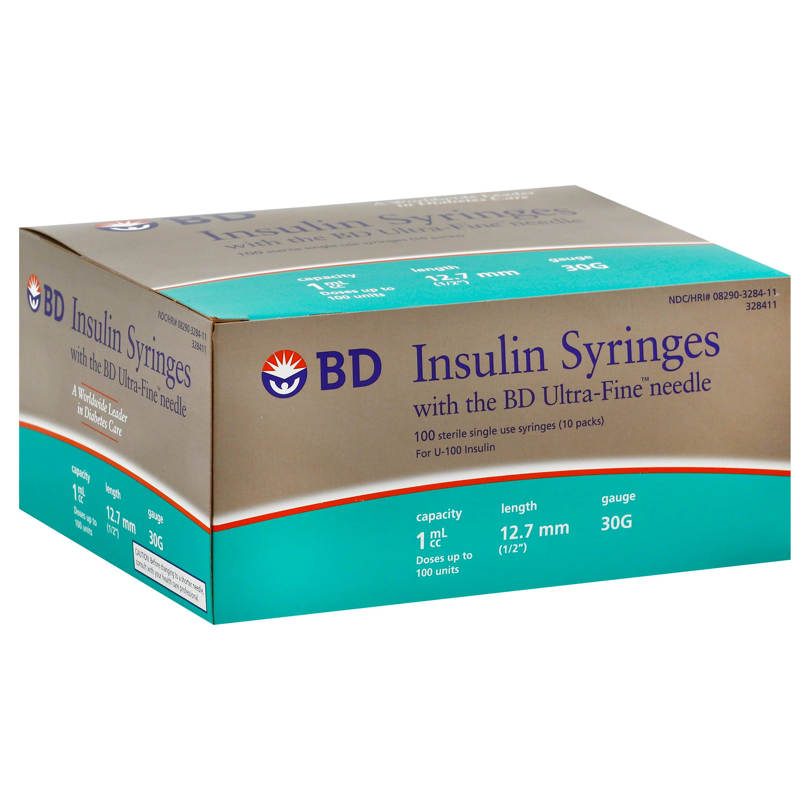 BD Ultra-fine Insulin Syringes