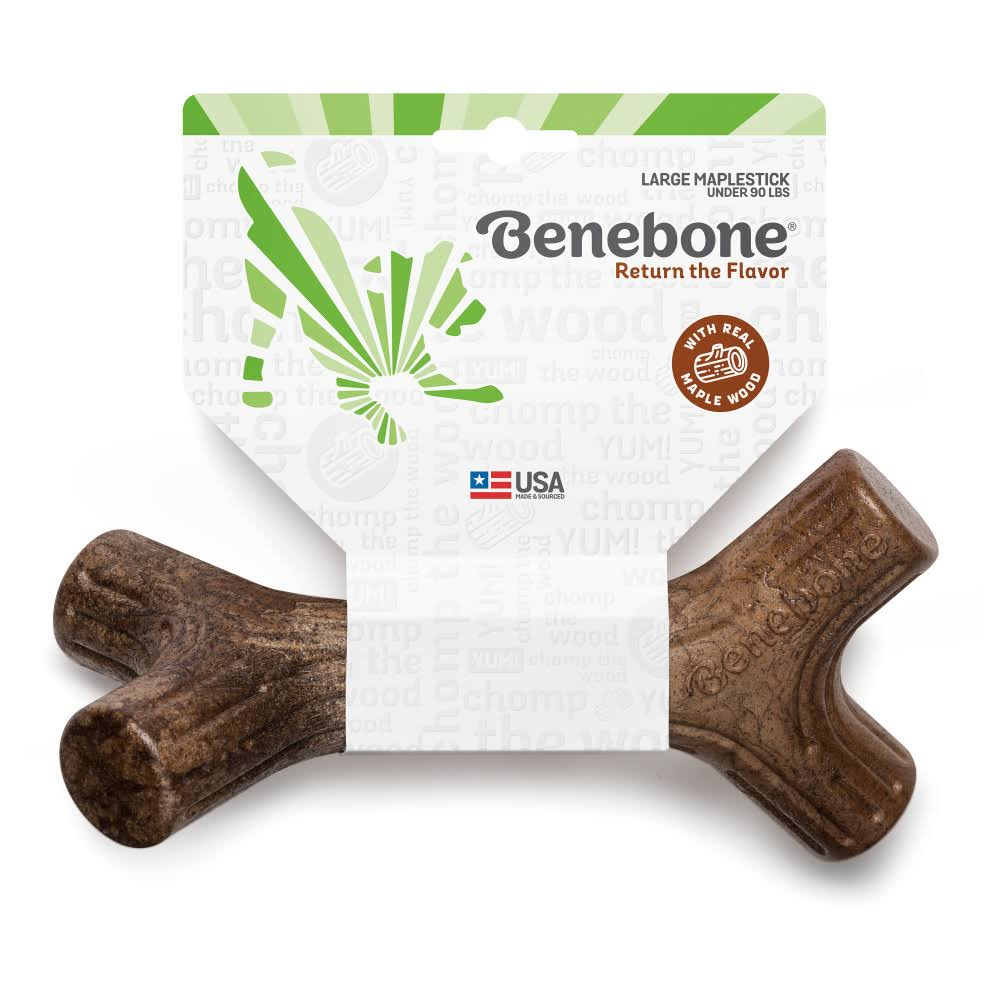 Benebone Maplestick Dog Chew Toy, Large