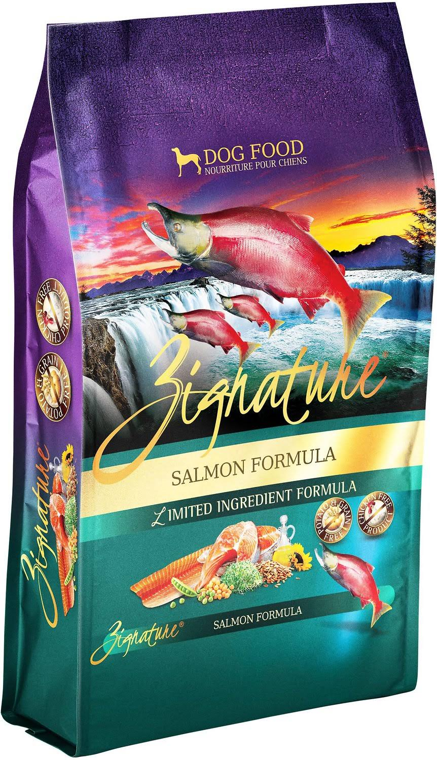 Zignature Salmon Dry Dog Food-4 lb