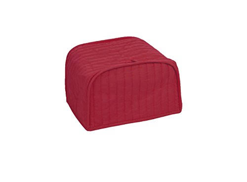 Ritz Cotton Quilted Two Slice Toaster Dust Cover - Red
