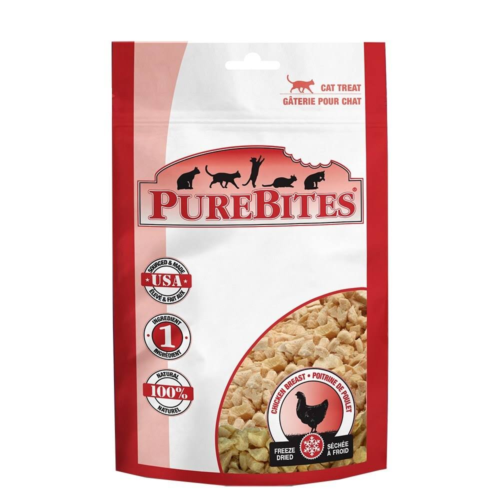 PureBites Cat Treat - Chicken Breast, 31g
