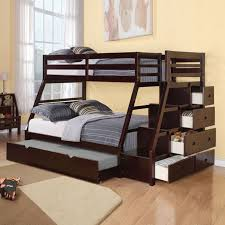 Wood Bunk Beds Plans by Wooden Bunk Beds With Desk Diy Loft Bed Plans With A Desk Under