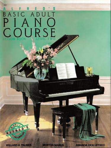 Alfreds Basic Adult Piano Course Lesson Book - Level 2