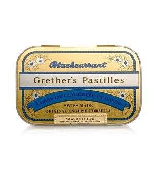 Grether's Blackcurrant Throat Pastilles