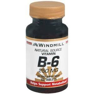 Windmill Vitamin B-6 - 250mg, 60 Tablets