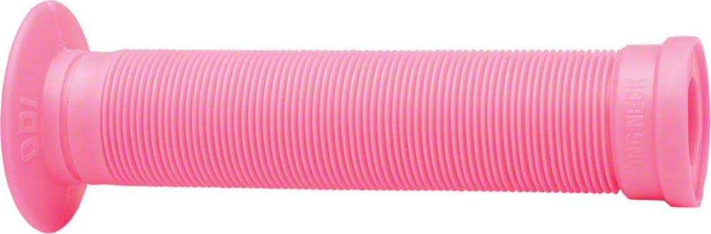 ODI BMX Longneck St Grips with Plugs - Pink, 143mm