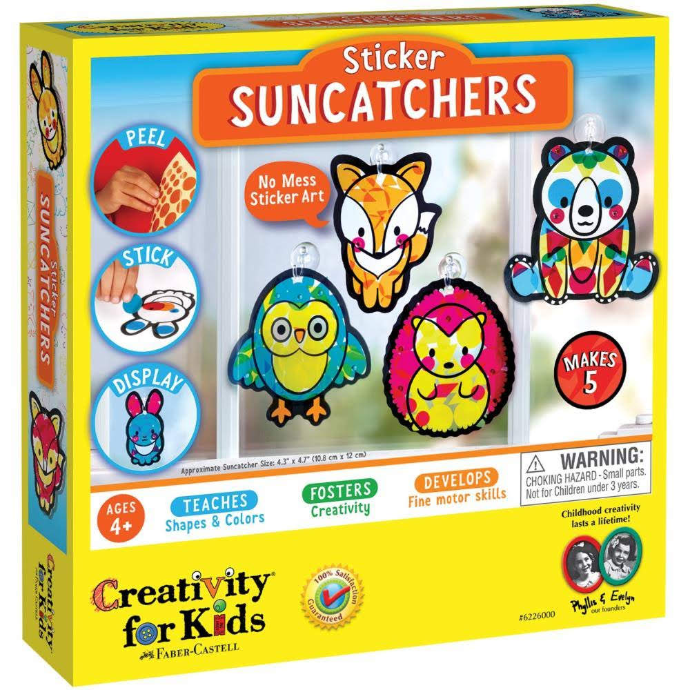 Creativity for Kids - Sticker Suncatchers