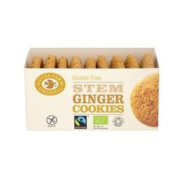Doves Farm Stem Ginger Cookies - 150g