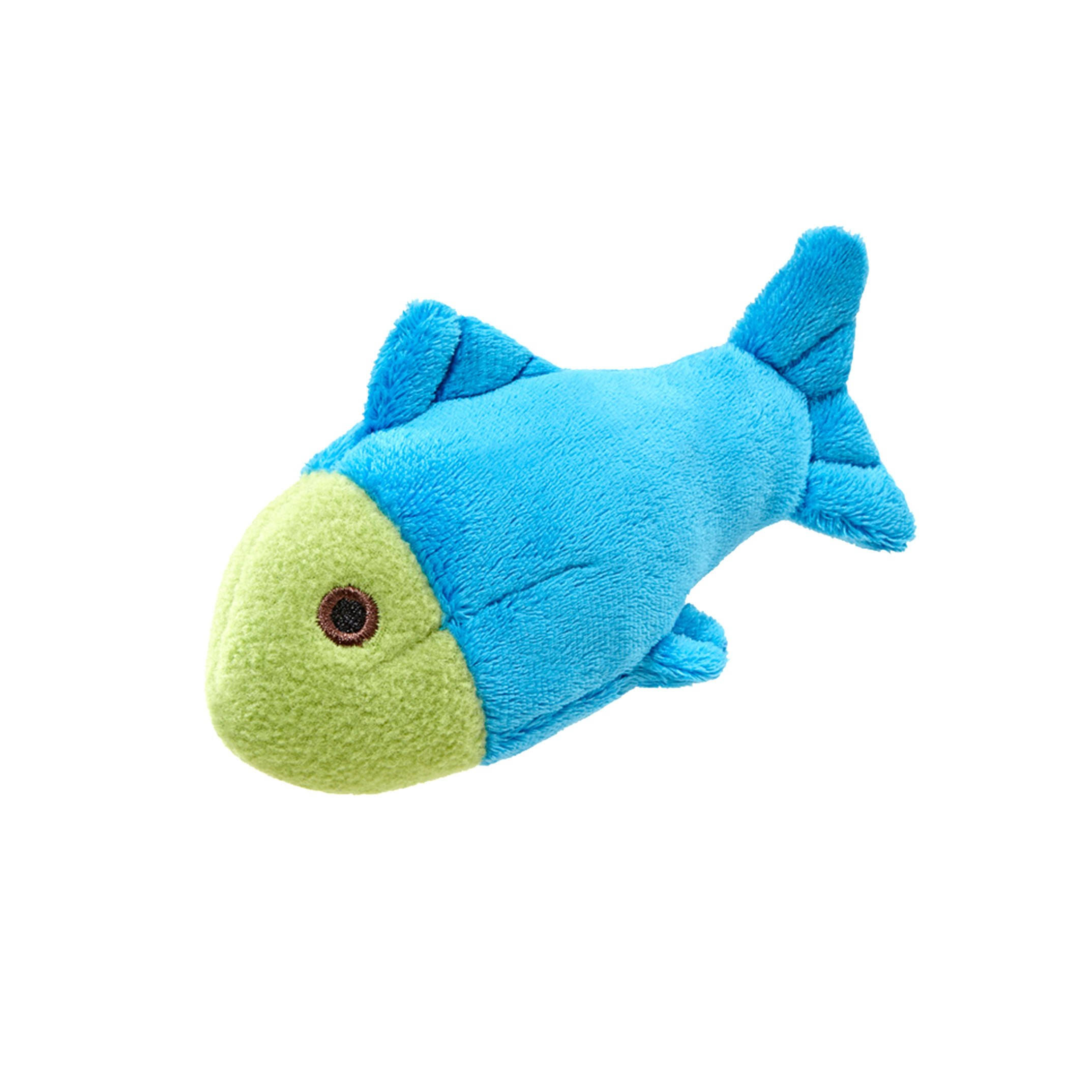 Fluff & Tuff Molly Fish Plush Dog Toy