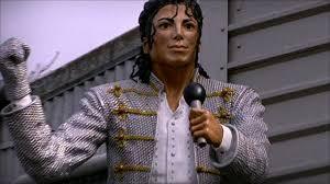 Michael Jackson at Fulham