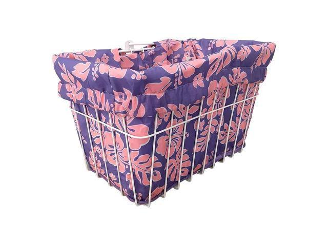 Cruiser Candy Reversible Bike Basket Liner - BL-LLCPNK