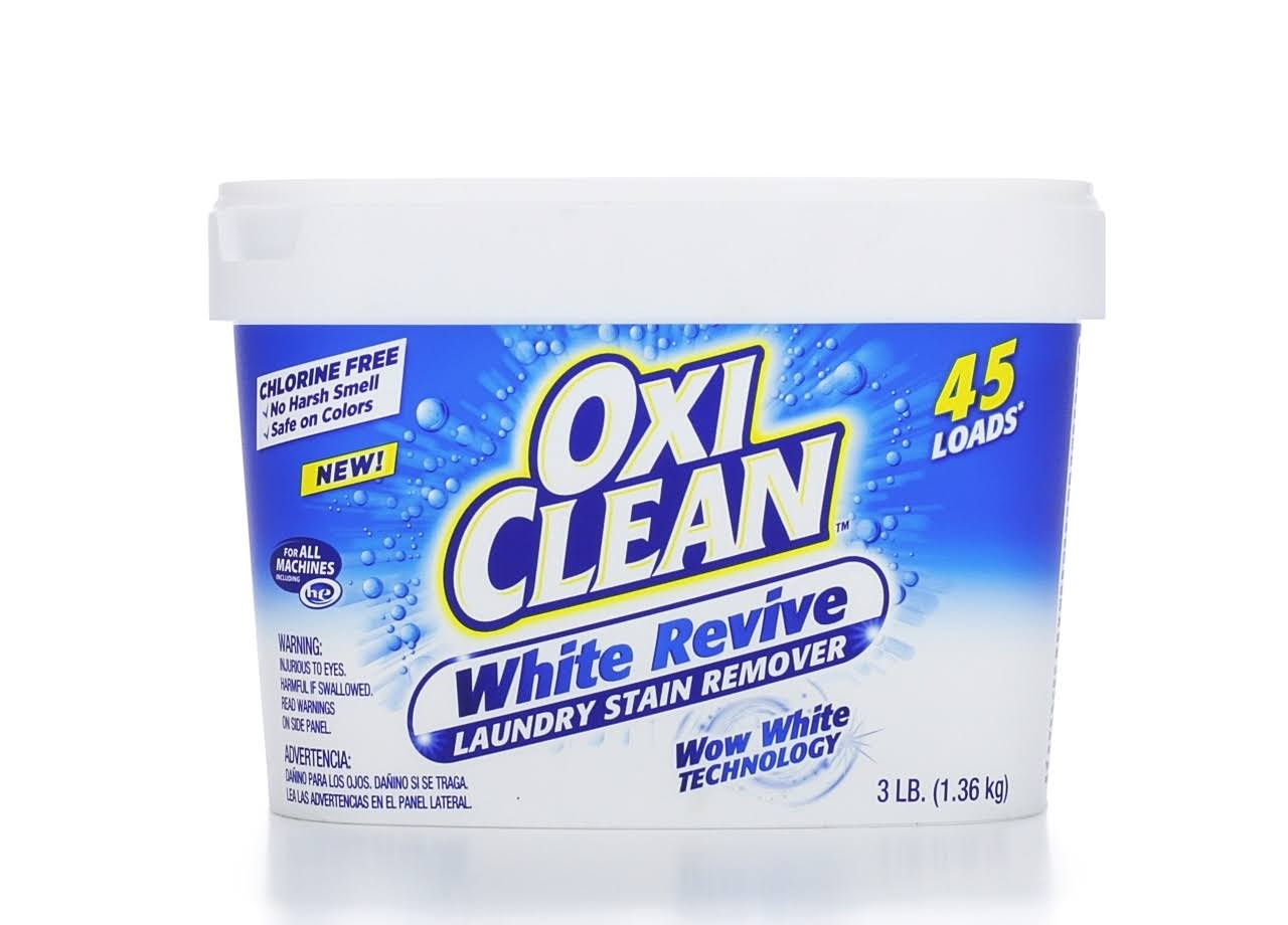 Oxi Clean White Revive Laundry Stain Remover