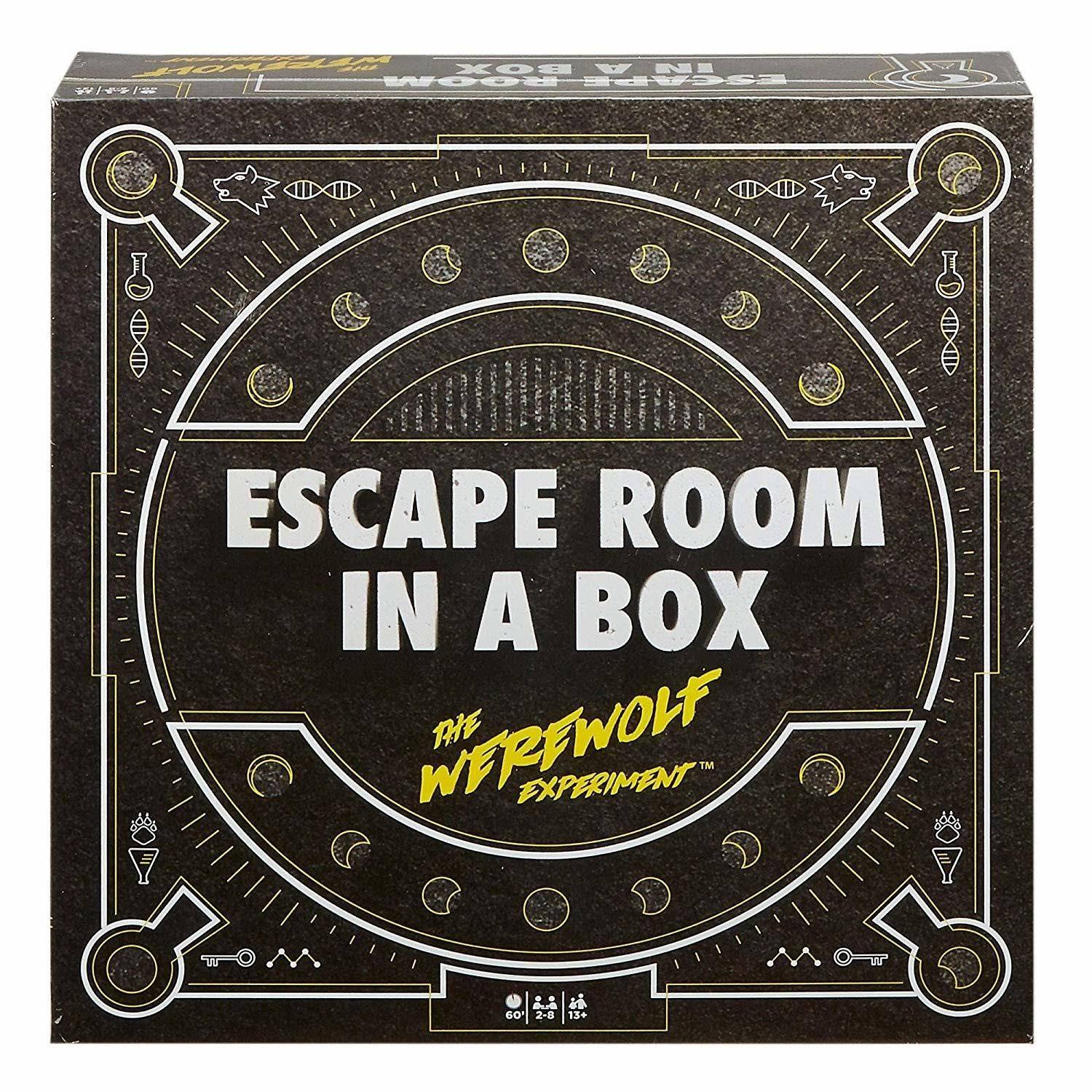 Escape Room in a Box: The Werewolf Experiment Board Game