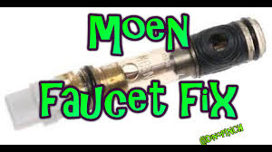 Moen Hands Free Lavatory Faucet by Single Handle Moen Faucet 1225 Cartridge Youtube