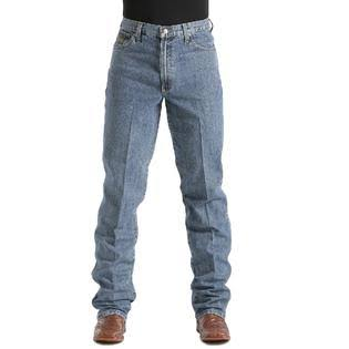 Mens Cinch Green Label Original Fit Medium Stonewash Jeans - MB90530001