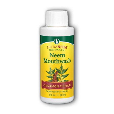 Organix South Neem Mouthwash - Cinnamon, 2oz