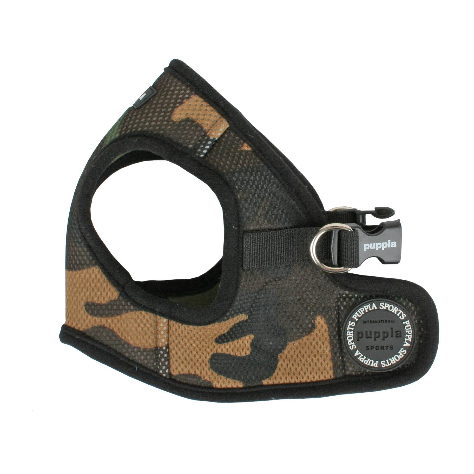 Puppia Dog Mesh Harness - Camo, X-Large