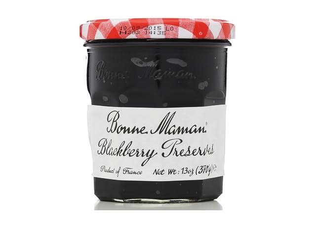 Bonne Maman Preserves, Blackberry - 13 oz