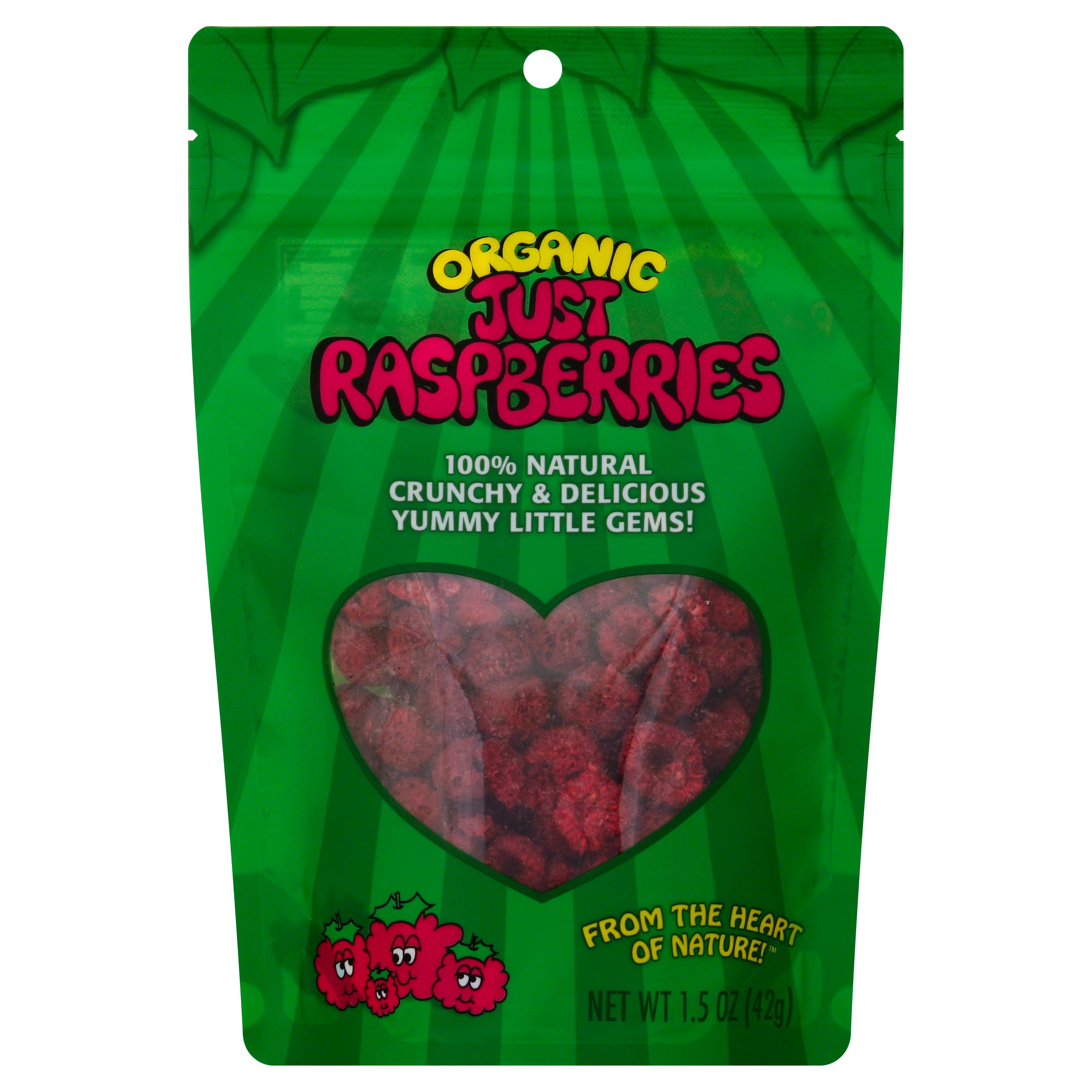 Organic Just Raspberries - 1.5 oz bag