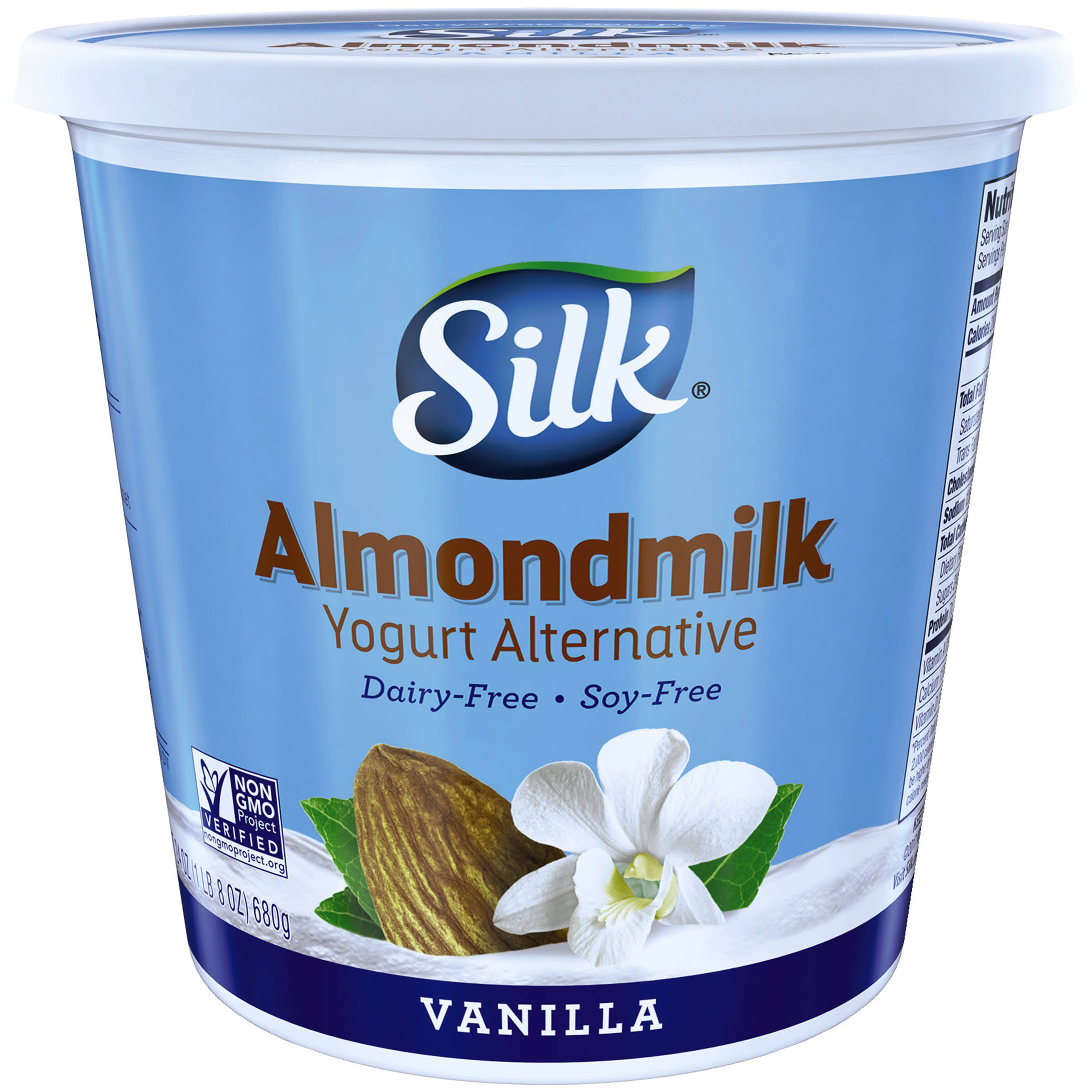 Silk Vanilla Almondmilk Yogurt Alternative