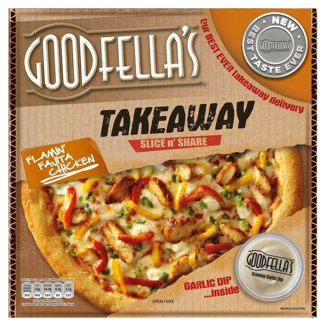 Goodfella's Takeaway Slice n' Share Flamin' Fajita Chicken - 607g