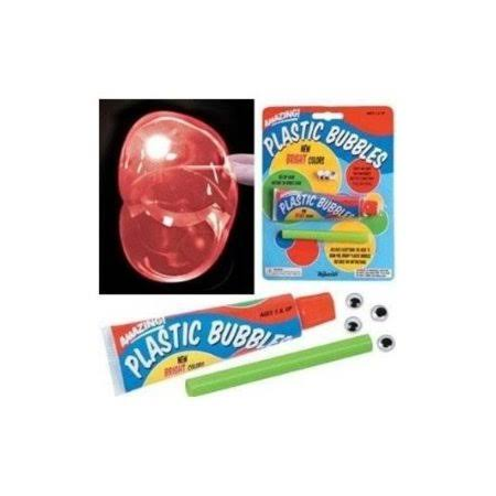 Toysmith Colourful Plastic Bubbles Playset